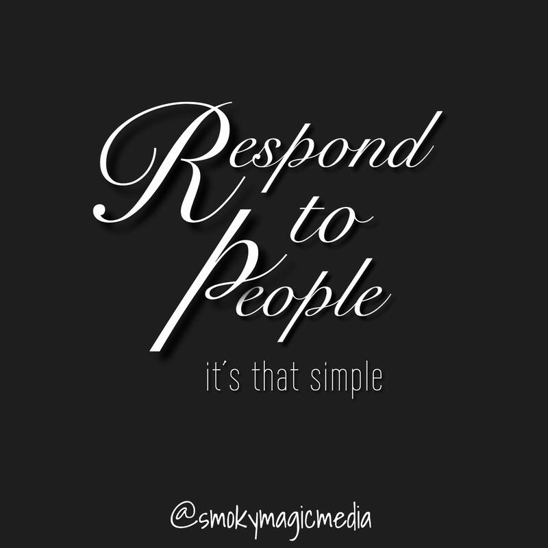 Respond to People quote