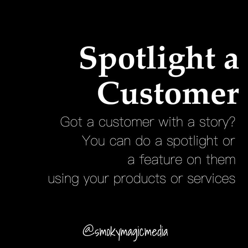 Social Media Tip to Spotlight a Customer
